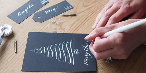 Full Day Christmas Calligraphy for Beginners with Fabulous Lunch/Location