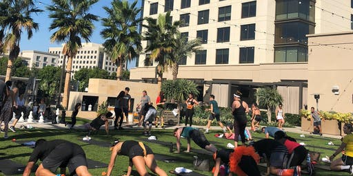 Marriott Irvine Spectrum x Orangetheory Tuff on the Turf