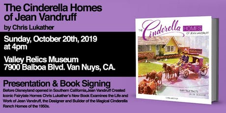The Cinderella Homes of Jean Vandruff by Chris Lukather tickets