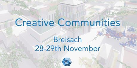Creative Communities Workshop - Ideal Spaces tickets