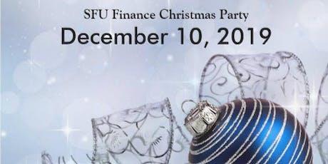 2019 SFU Finance Christmas Party tickets