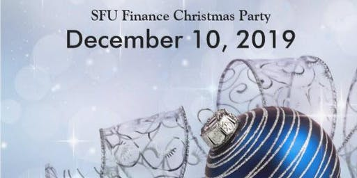 2019 SFU Finance Christmas Party