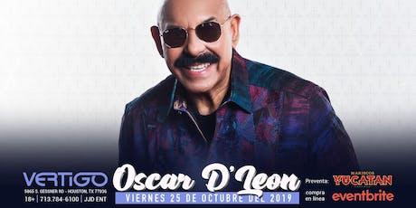 """Vertigo Night Club presenta: """"Oscar D' León"""" tickets"""