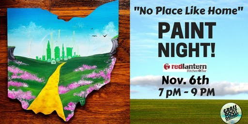 No Place Like Home | Paint Night!
