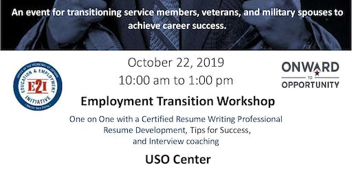 Employment Transition Workshop