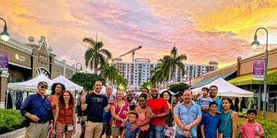 Choose954 Guided Tour Of Monthly Downtown Hollywood Florida ArtWalk (Every 3rd Saturday)