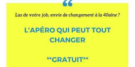 Vous cherchez le job de vos rêves ? L'apéro qui peut tout changer ! billets
