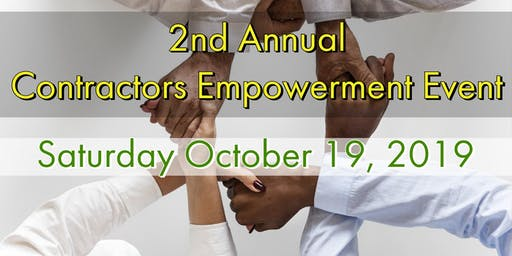 2nd Annual Contractors Empowerment Event