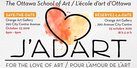 J'adart! For the love of art • Pour L'amour de l'art tickets