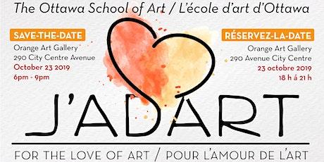 J'adart! For the love of art / Pour l'amour de l'art tickets