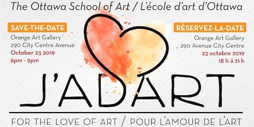 J'adart! For the love of art • Pour L'amour de l'art