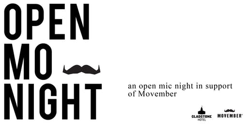 Open Mo Night vol. 7: in support of Movember