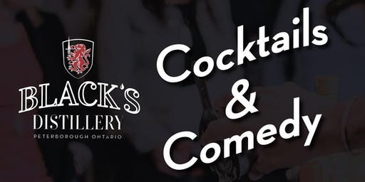 Cocktails & Comedy at Black's Distillery