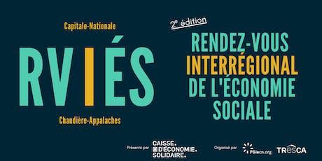 Rendez-vous interrégional de l'économie sociale - 2e édition tickets