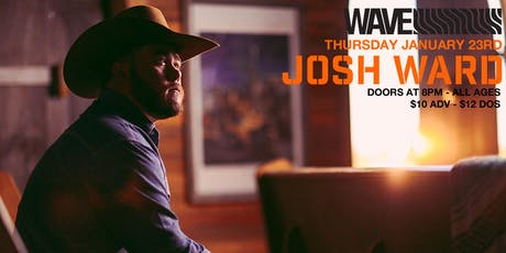 Josh Ward live at Wave tickets