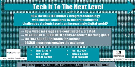 Tech It To The Next Level tickets