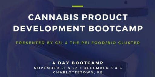 Cannabis Product Development Bootcamp