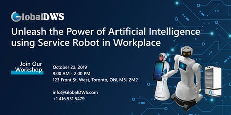 Unleash the Power of Artificial Intelligence Using Service Robots tickets