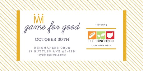 Game for Good: LunchBox Ohio tickets