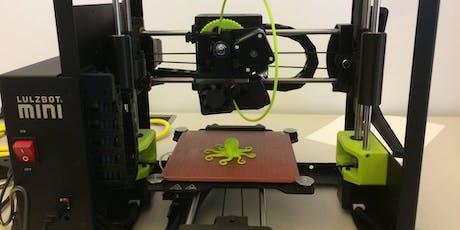 3D Printer Authorization (Lulzbot) tickets