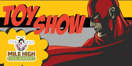Comic and Toy Show tickets