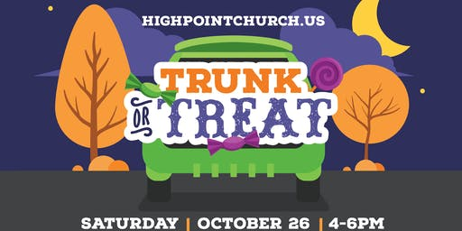 Highpoint Church Trunk or Treat 2019