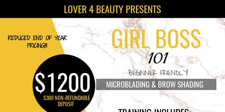Girl Boss 101: Microblading & Shading (Dallas, TX) tickets