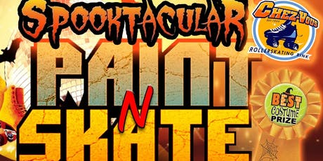 Spooktacular Paint N Skate tickets