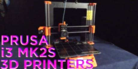Prusa 3D Printer Authorization tickets