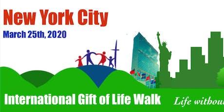 2020 International Gift of Life Walk - NYC tickets
