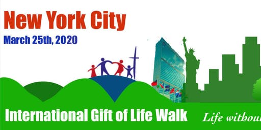 2020 International Gift of Life Walk - NYC
