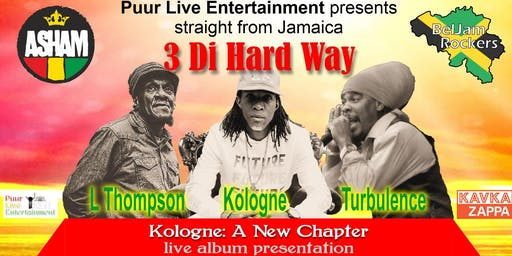 Kologne live album launch party feat. Linval Thompson & Turbulence