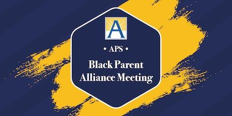APS Black Parent Alliance Meeting tickets