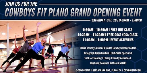 Cowboys Fit Plano Grand Opening