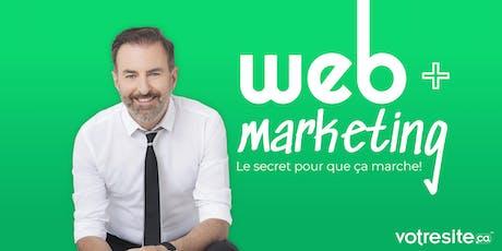Conférence à Québec // François Charron billets