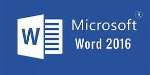 Microsoft Word 2016 Introduction Workshop