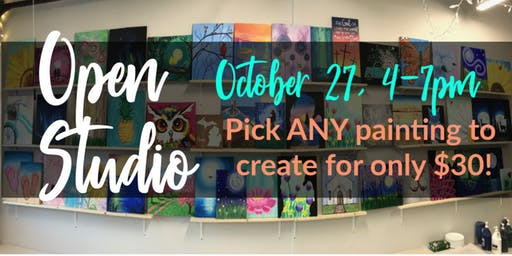 Open Studio Paint Night!