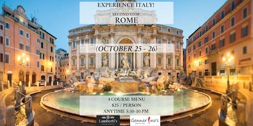 Experience Italy: Rome