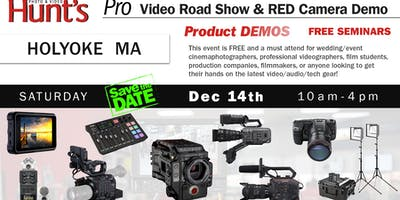 Hunt's Photo & Video Professional Video Show and Demo Holyoke MA