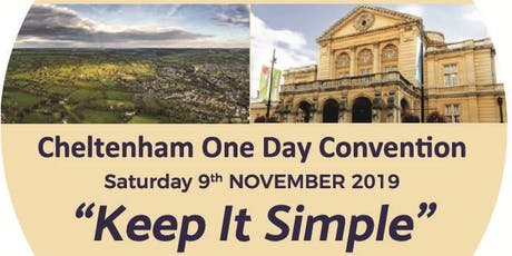 Keep It Simple Cheltenham One Day Convention of Alcoholics Anonymous tickets