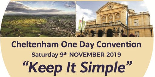 Keep It Simple Cheltenham One Day Convention of Alcoholics Anonymous