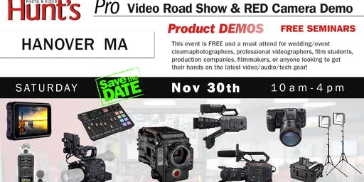 Hunt's Photo & Video Professional Video Show and Demo Hanover MA