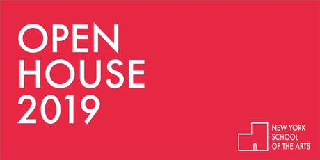 New York School of the Arts Open House 2019 tickets