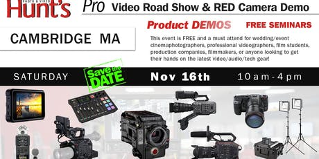 Hunt's Photo & Video Professional Video Show and Demo Cambridge MA tickets