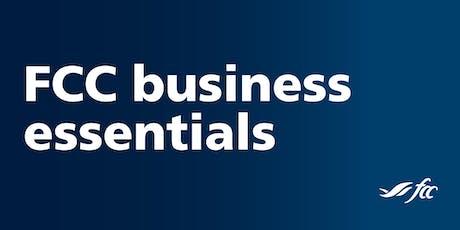 FCC Business Essentials - Brandon tickets