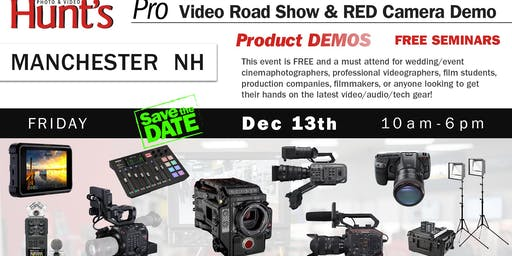 Hunt's Photo & Video Professional Video Show and Demo Manchester NH