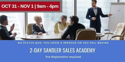 2-Day Sandler Sales Academy