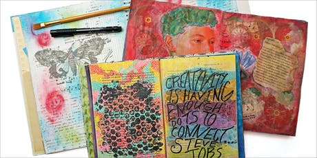 MAKE, CRAFT & DO: Art Journaling with April Trickel tickets