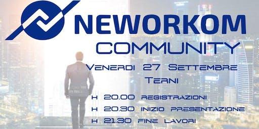 NEWORKOM INTERNATIONAL COMMUNITY-Presentazione Progetto