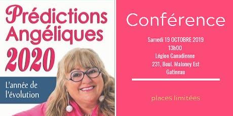 Conférence Prédictions Angéliques 2020 tickets